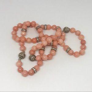 Cherry Quartz Convertible Necklace